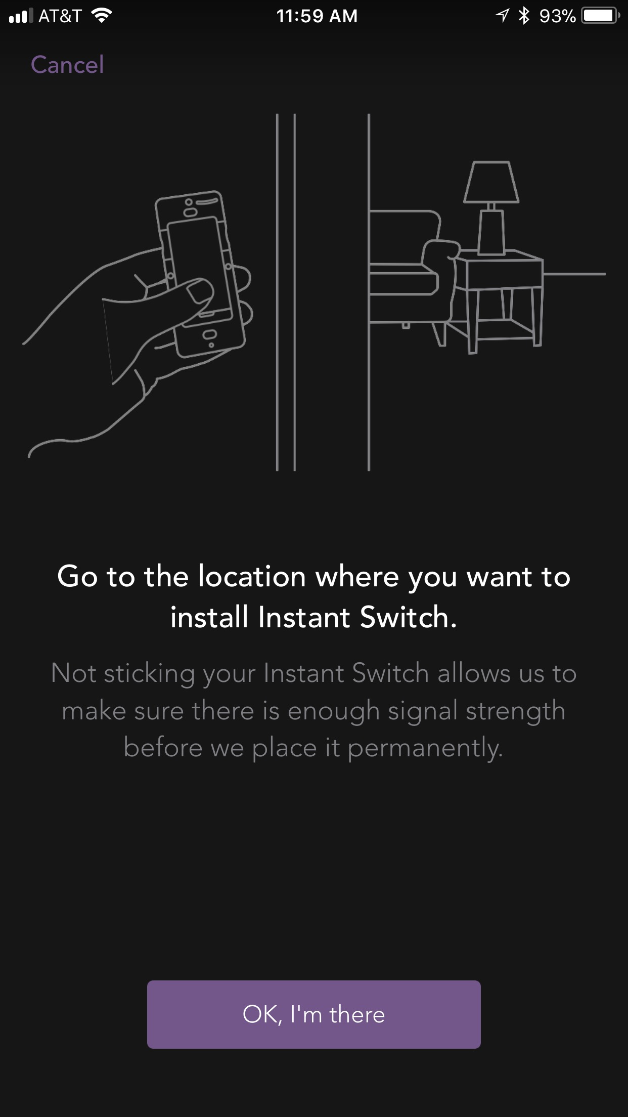 Instant switch setup ios idevices customer support this will ensure that the instant switch has a strong signal to the idevices product you are connecting it to once youve reached the location tap okay asfbconference2016 Gallery