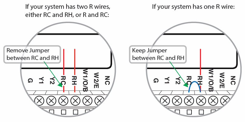 on wiring thermostats